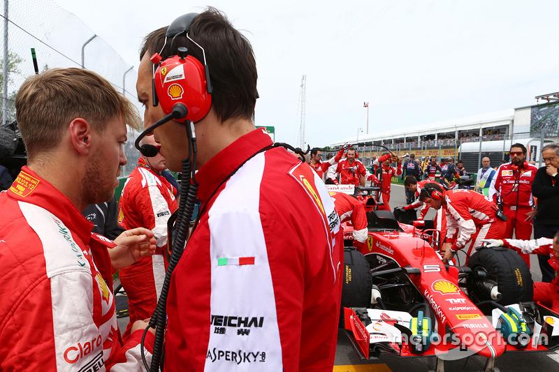 Sebastian Vettel, Ferrari di grid