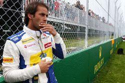 Felipe Nasr, Sauber F1 Team no grid