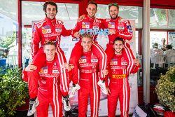 Rebellion Racing: Nicolas Prost, Mathias Beche, Nick Heidfeld, Alexandre Imperatori, Dominik Kraiham