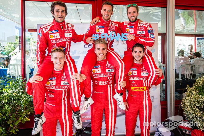 Rebellion Racing: Nicolas Prost, Mathias Beche, Nick Heidfeld, Alexandré Imperatori, Dominik Kraiham