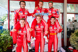 Rebellion Racing: Nicolas Prost, Mathias Beche, Nick Heidfeld, Alexandre Imperatori, Dominik Kraihamer, Daniel Abt