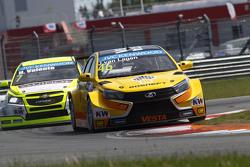 Jaap van Lagen, Lada Vesta WTCC, Lada Sport Rosneft e Hugo Valente, Chevrolet RML Cruze TC1, Campos