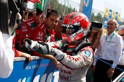 1. Tiago Monteiro, Honda Civic WTCC, Honda Racing Team JAS