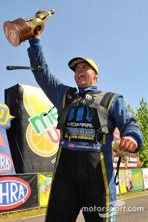 Funny Car-winnaar Matt Hagan