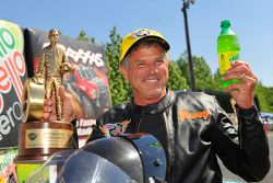 Pro Stock Bike winnaar Jerry Savoie