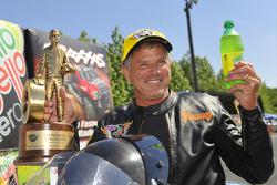 Pro Stock Bike winnaar Jerry Savoie