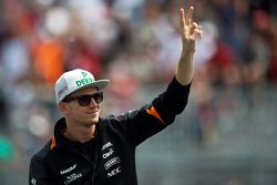 Нико Хюлькенберг, Sahara Force India F1 на параде пилотов