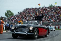Marcus Ericsson, Sauber F1 Team en el desfile de pilotos