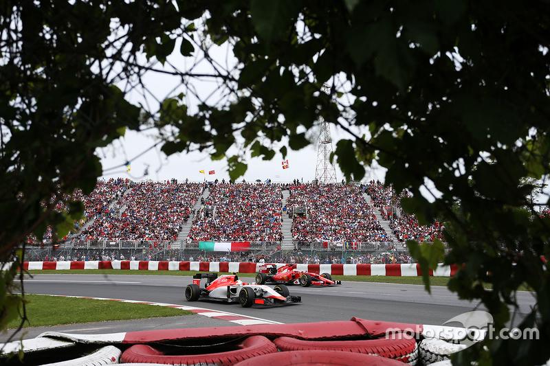 Роберто Мери, Гран При Канады