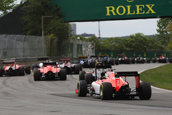 Will Stevens, Manor Marussia F1 Team at the start of the race