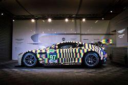 #97 Vantage GTE art car designed by artist Tobias Rehberger