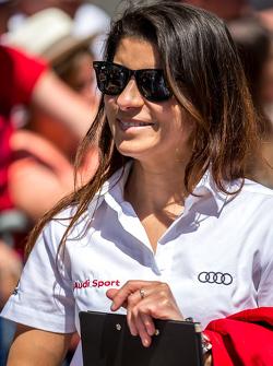 #7 Audi Sport Team Joest Audi R18 e-tron quattro: Leena Gade