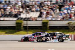 Clint Bowyer, Michael Waltrip Racing Toyota and Austin Dillon, Richard Childress Racing Chevrolet