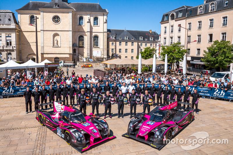 #34 OAK Racing, Ligier JS P2: Chris Cumming, Kevin Estre, Laurens Vanthoor und #35 OAK Racing Ligier, JS P2: Jacques Nicolet, Erik Maris, Jean-Marc Merlin
