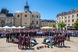 #30 Extreme Speed Motorsports Ligier JS P2: Scott Sharp, David Heinemeier Hansson, Ryan Dalziel and