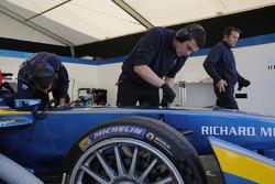 e.dams-Renault Formula E Team area