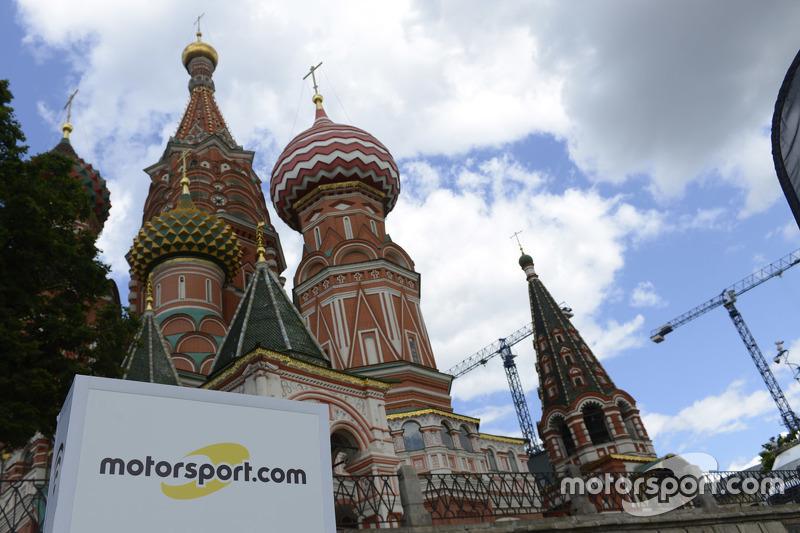 Sponsorship Motorsport.com di ePrix Formula E Moskow, Rusia