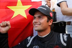 Race winner Nelson Piquet Jr., China Racing