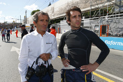 Alain Prost and Nicolas Prost