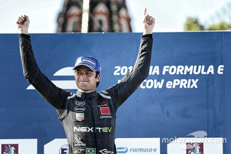 Race winner Nelson Piquet Jr., China Racing