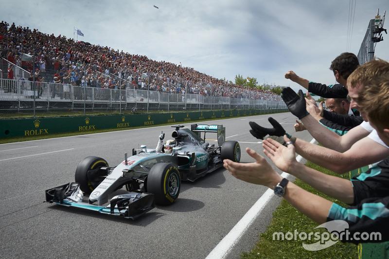 Lewis Hamilton, Mercedes - 2015