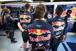 Engenheiros da Red Bull Racing