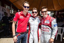 Harry Tincknell, Simon Dolan e Filipe Albuquerque