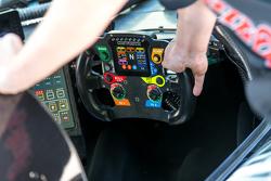 Le cockpit de la #31 Extreme Speed Motorsports Ligier JS P2