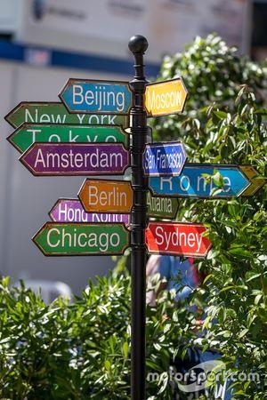 Placas das cidades do mundo