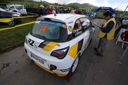 Эмиль Бергквист и Йоаким Сьёберг, Opel Adam R2, Opel Motorsport
