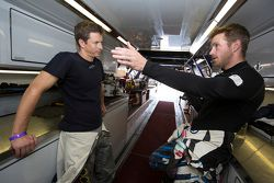 Tanner Foust et Scott Speed