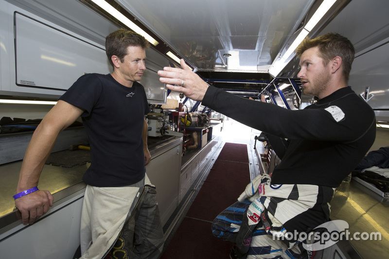 Tanner Foust et Scott Speed