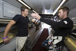 Tanner Foust and Scott Speed