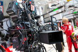Porsche Team: Brendon Hartley grava uma parte em 3D do filme sobre Le Mans