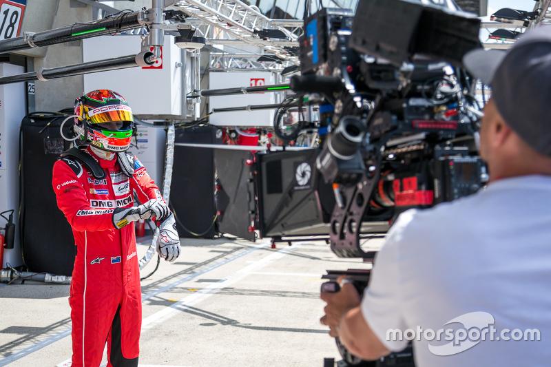 Porsche Team: Brendon Hartley spielt eine Rolle in einem 3D-Film über Le Mans