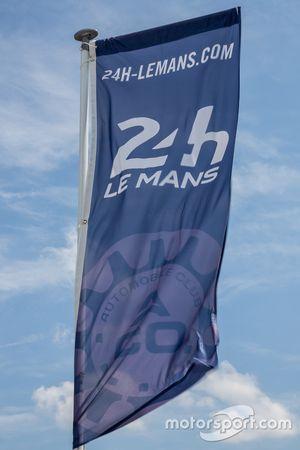 Flagge für die 24 Stunden von Le Mans
