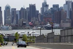Una vista a las calles de Manhattan