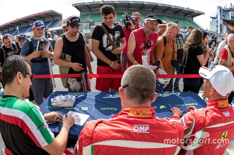 AF Corse Ferrari: Emmanuel Collard, Rui Aguas, François Perrodo