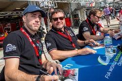AF Corse Ferrari: Peter Ashley Mann, Raffaele Giammaria, Matteo Cressoni