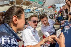 Audi Sport Team Joest: René Rast, Marco Bonanomi