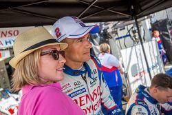 Toyota Racing: Stéphane Sarrazin com um fã