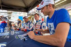 Toyota Racing: Alexander Wurz, Stéphane Sarrazin, Mike Conway