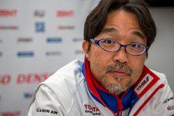 Le chef du développement de Toyota Racing Hisatake Murata