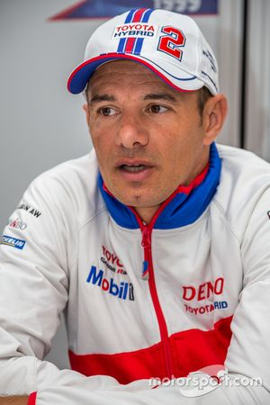 Toyota Racing : Stéphane Sarrazin