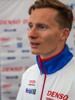 Toyota Racing: Mike Conway