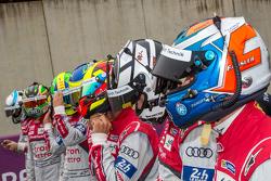Audi Sport Team Joest: Marcel Fässler, Andre Lotterer, Benoit Tréluyer, Lucas di Grassi, Loic Duval,
