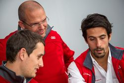 Audi Sport Team Joest: Lucas di Grassi e Oliver Jarvis with Chris Reinke