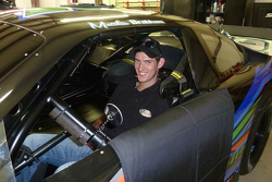 Matt Brabham tests a Late Model from David Gilliland Racing