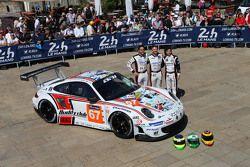 #67 Team AAI, Porsche 911 GT3-RSR: Alex Kapadia, Xavier Maassen, Jun-San Chen