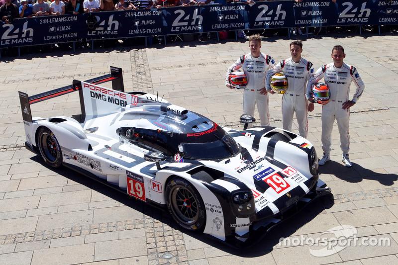 #19 Porsche Takımı - Porsche 919 Hibrit: Nico Hulkenberg, Nick Tandy, Earl Bamber